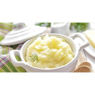 Purée de pomme de terre au beurre
